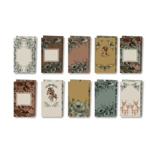 Etiketter/ Gift tags 10-pack, Mrs. Mighetto