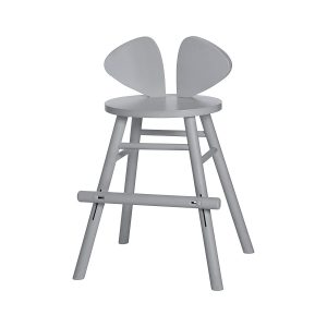 MOUSE CHAIR grey juniorstol / matstol, Nofred