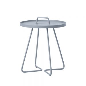On the move bord - light grey, stor