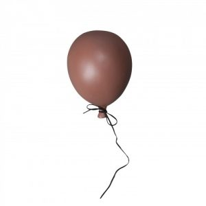 Porslins ballong BALLOON small dusty red, Mini ByON