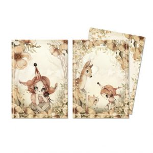 Kort The Floral Glade 2-pack Mrs Mighetto