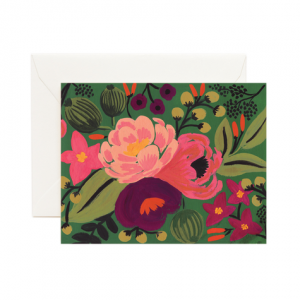 Vintage Blossoms Green card, Rifle Paper Co